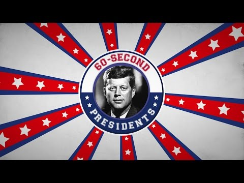 John F. Kennedy | 60-Second Presidents | PBS