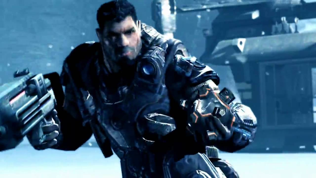 lost planet 2 gears of war crossover trailer youtube