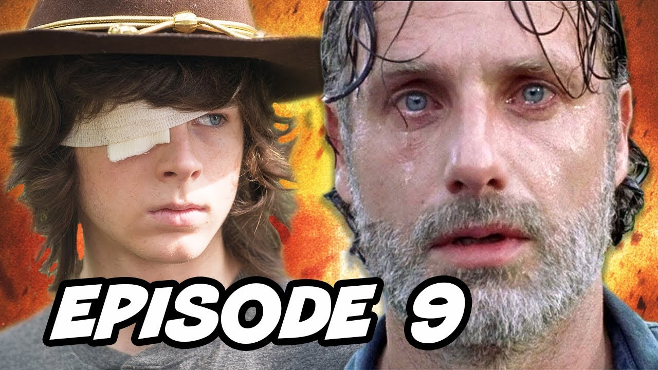 Download Walking Dead Season 8 Episode 9 Carl Grimes - TOP 10 WTF and Easter Eggs