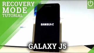 SAMSUNG Galaxy J5 (2016) RECOVERY MODE / Enter & Quit Recovery