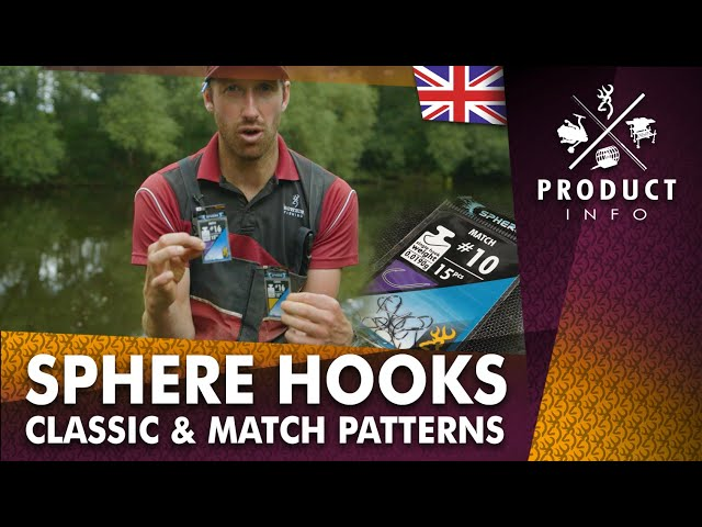 Sphere Classic & Match Hooks : Choose the Right Hook
