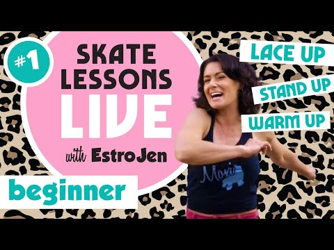 Live Skate Lessons With Estrojen!!!