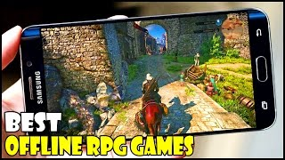"Top 5 Best Offline RPG Games "" High Graphics "" for Android/iOS in 2016/2017 