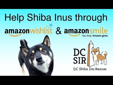 DC SIR: Amazon Wish List and Amazon Smile 2015 - 16