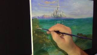 Рисуем вместе   -   МОРСКОЙ ПЕЙЗАЖ