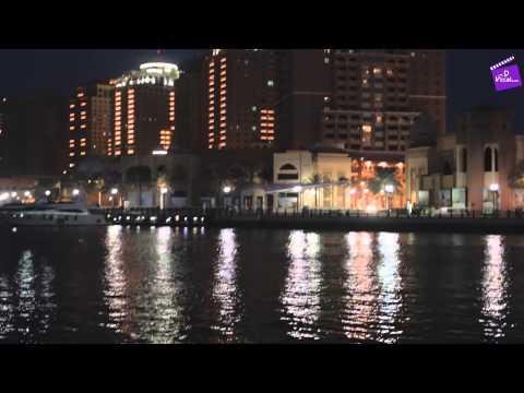 Beautiful Night View at The Pearl Qatar