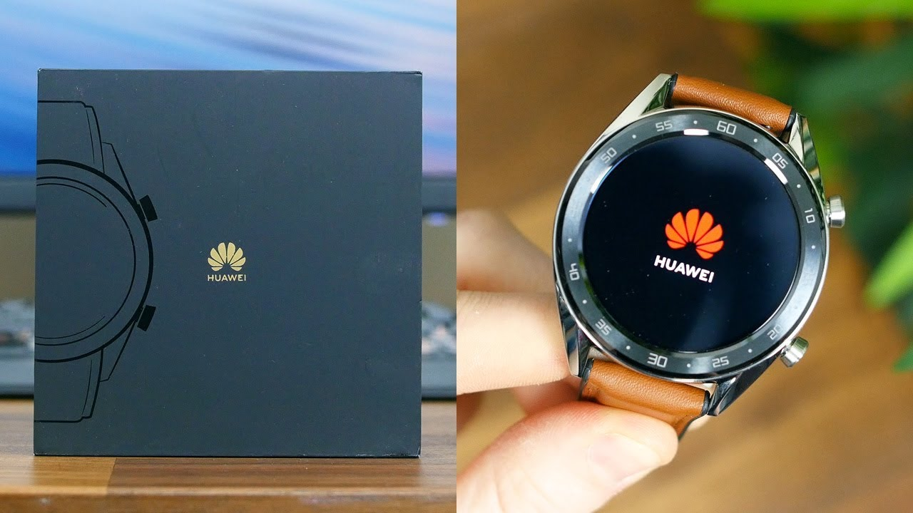 Huawei Watch GT Unboxing and First Impressions | ElecCafe