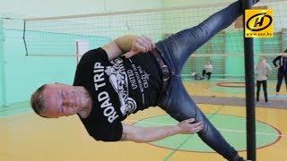 Танец на шесте  Китайская мачта в Беларуси