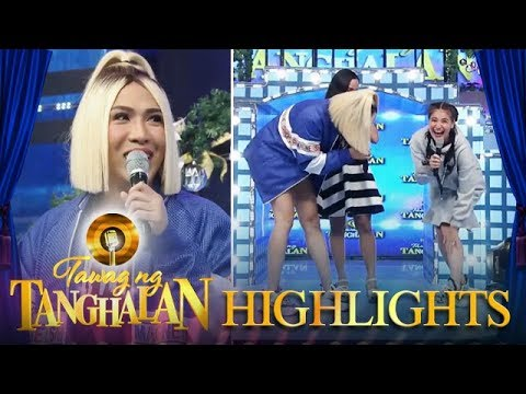 Tawag ng Tanghalan: Vice makes fun of Anne's dry legs