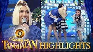 Tawag ng Tanghalan: Vice makes fun of Anne's dry legs