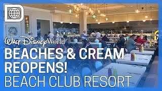 Beaches and Cream Soda Shop Reopens with New Look - Disney's Beach Club