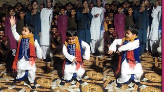 Dhol Player Waseem Talagangi  vs Little Kid amazing dance must watch till the end