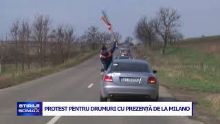 28 06 PROTEST PENTRU DRUMURI CU PREZENTA DE LA MILANO