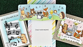 Intro to Critter Concert + Little Music Notes + 3 cards from start to finish