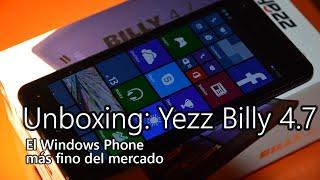 Unboxing: Yezz Billy 4.7
