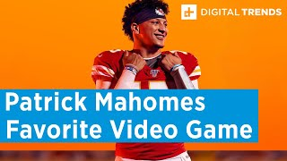 Patrick Mahomes Favorite Video Game - Super Bowl Media Day