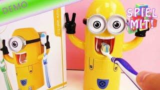 Minions Zahnpastaspender - mit den Minions Zähne putzen!