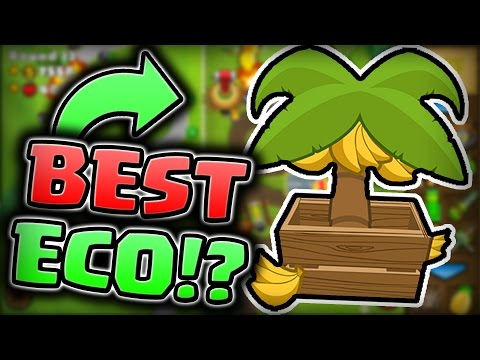 TRYING OUT SOME ECO STRATEGIES!! (Bloons TD Battles)