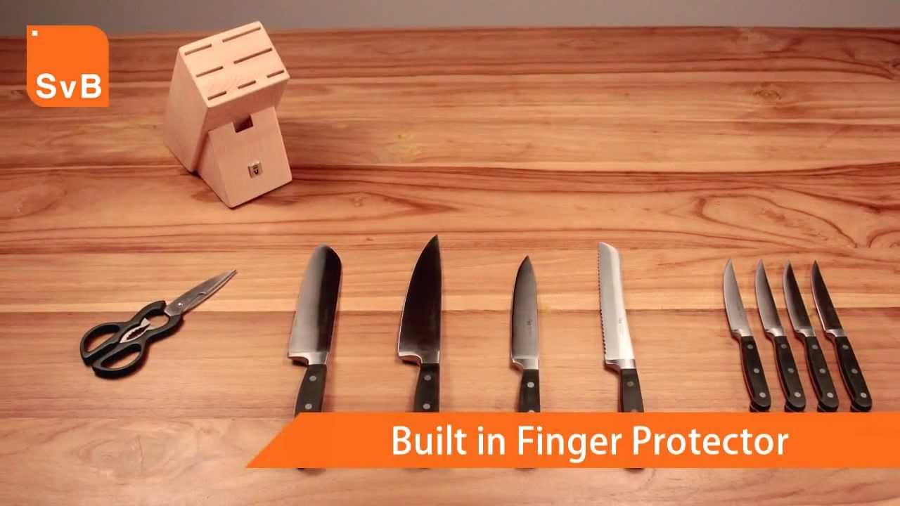 royal vkb 10 piece knife set youtube. Black Bedroom Furniture Sets. Home Design Ideas