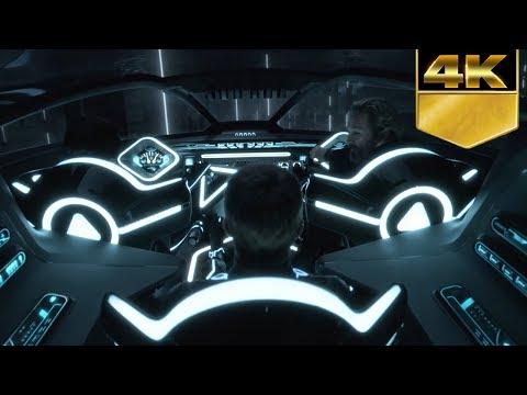 Tron Legacy Sam Vs Light Jets (IMAX, 4K)