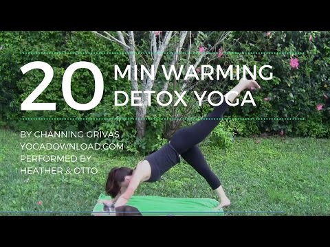 Warming Detox Yoga flow [from YogaDownload.com]