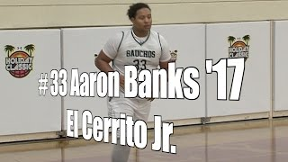 Aaron Banks '17, El Cerrito Junior at 2015 UA Holiday Classic