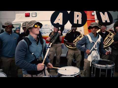 Army/Air Force Drum Line Battle 2016 [4K]