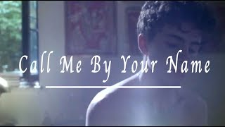 Call me by your Name  | Clocks