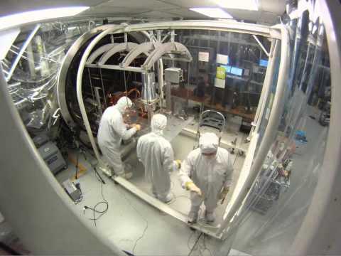 SAGE III on ISS Thermal Vacuum Test Timelapse