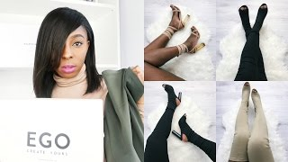 Ego Official Shoes | YEEZY SEASON 2 HEELS? | Review + Try-On haul