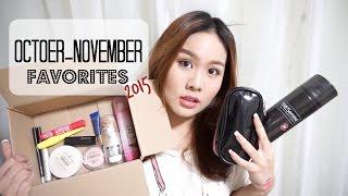 October-November Favorites 2015 *stylechonneeh
