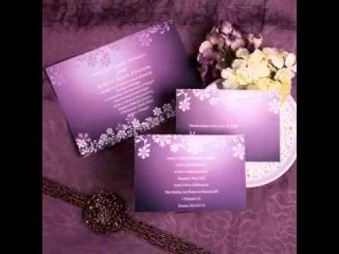 Сиреневый и фиолетовый на свадьбе