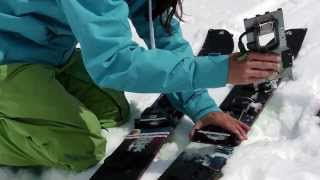 How to setup a Splitboard by Blue Tomato