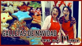 RECETAS DE GALLETAS DE NAVIDAD CON MI MAMI ❄ Christmas Hug #9 | Christine Hug