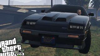 GTA 5 PC - Knight Rider K.I.T.T Mod! (Epic Working K.I.T.T Mod) Grand Theft Auto 5 Gameplay
