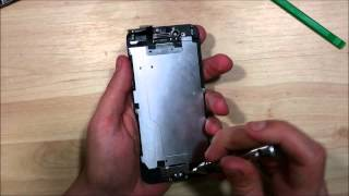 iPhone 6 Screen Repair  Replacement Disassembly- Home Button, Ear Speaker, Front Facing Camera