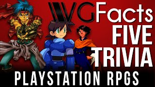 5 PlayStation RPGs Trivia - VG Facts Five Trivia