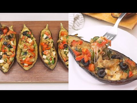 Stuffed eggplants a classic recipe for a delicious second dish