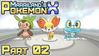 Pokémon X, Part 02: Your First Pokémon!
