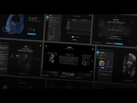 Overview Logitech G HUB