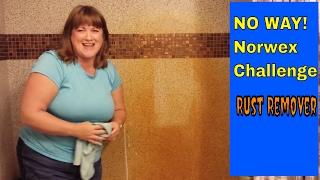 NO WAY!! Norwex challenge: Rust Remedy