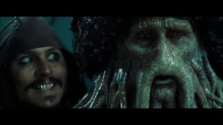 Pirates Of The Caribbean: Dead Man's Chest 2011  Hindi Devi Jhons & Jack Sparrow Deal Scenes    (06)