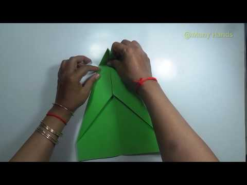 DIY How to make origami Airplane #2