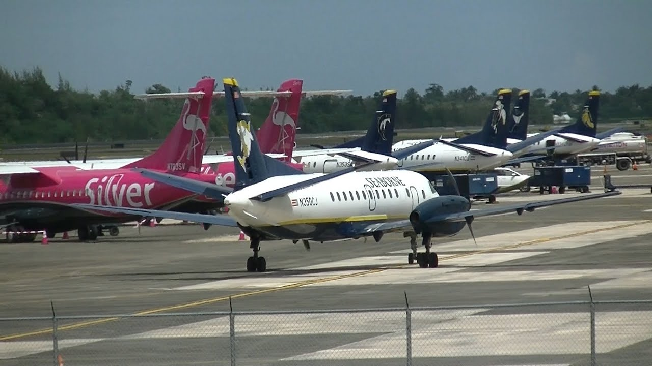 San Juan Airport: Silver/Seaborne Hub & More!