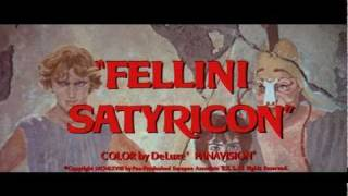 Trailer -Fellini Satyricon