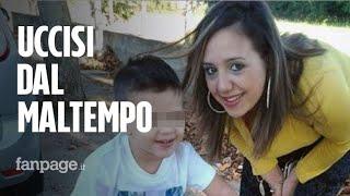 Maltempo in Calabria: morti mamma e figlio.
