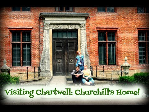 Visiting Chartwell: Churchill's home!!