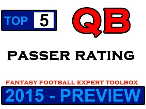 FFET: Top 5 QBs - Passer Rating (2015 Preview)