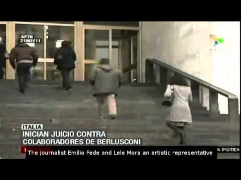 3 Berlusconi's collaborators on trial in prostitute scandal