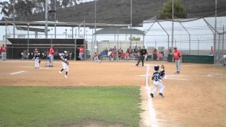 Pony West Coast Shetland World Series - Nathan Lewis #48 AMAZING CATCH
